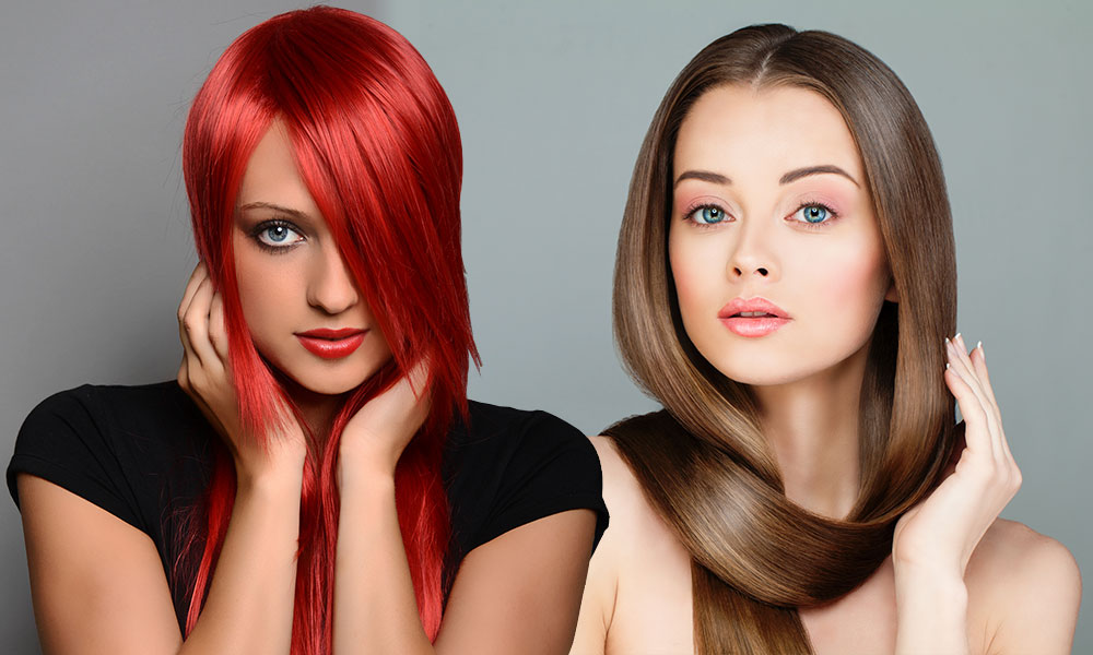Hertfordshire Hair Salon | Choosing the Best Parting for Your Face Shape blog image