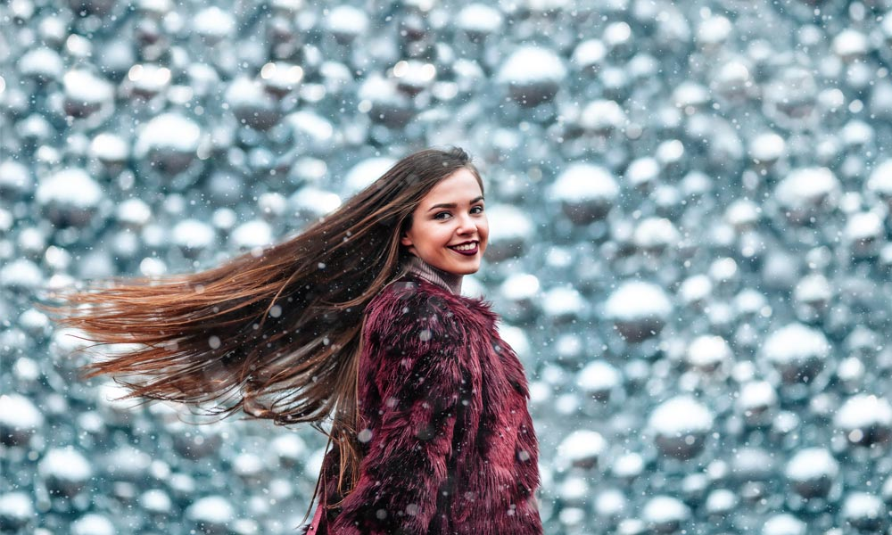 Hair Salon How to Maintain Healthy Hair This Winter Blog Image