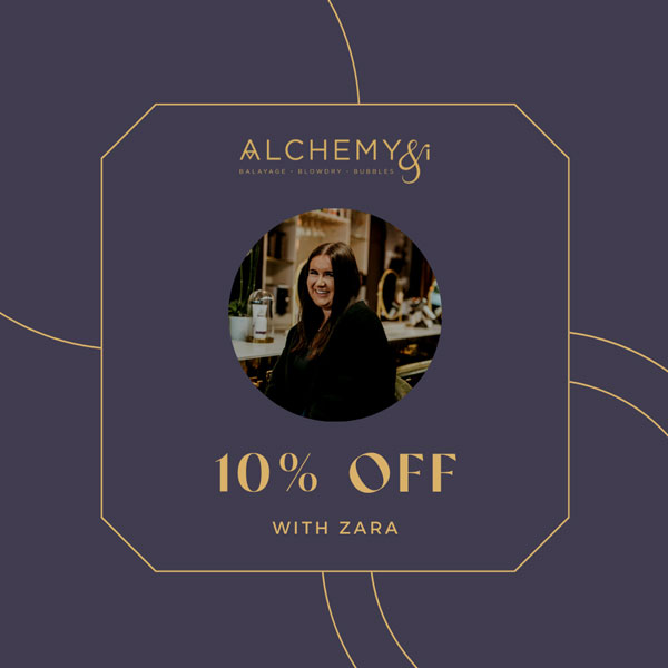 Berkhamsted Hair Salon Alchemy and I UK October Offers Image 1